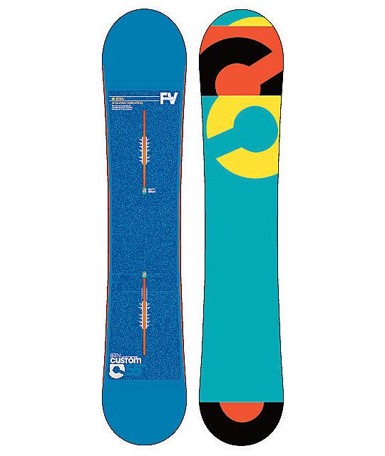 Burton Custom Flying V 155cm Wide Snowboard