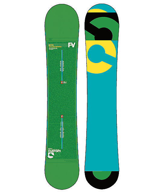 Burton Custom Flying V 163cm Snowboard