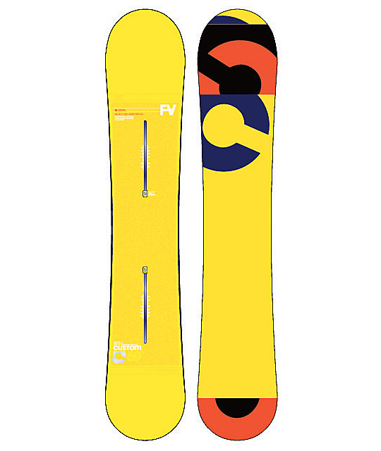 Burton Custom Flying V 169cm Wide Snowboard