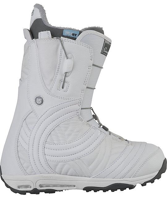 Burton Emerald White Womens Snowboard Boots