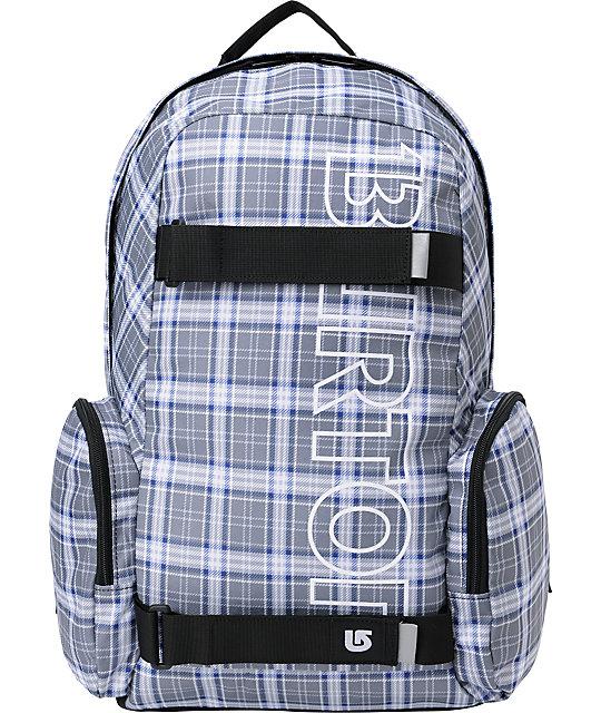 Burton Emphasis Plaid Skate Backpack