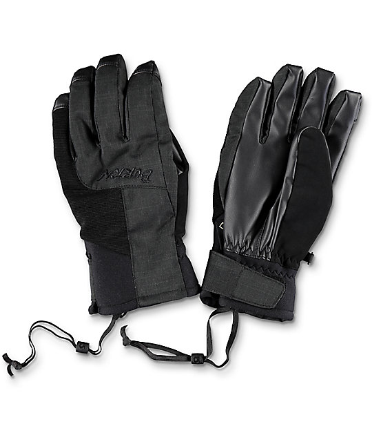 Burton Empire Gore-Tex Black Snowboard Gloves