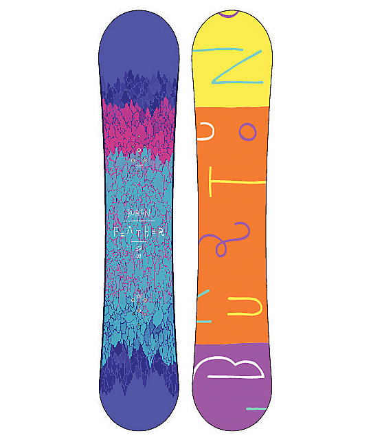 Burton Feather 152cm Wide Womens Snowboard