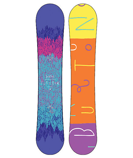 Burton Feather 153cm Womens Snowboard