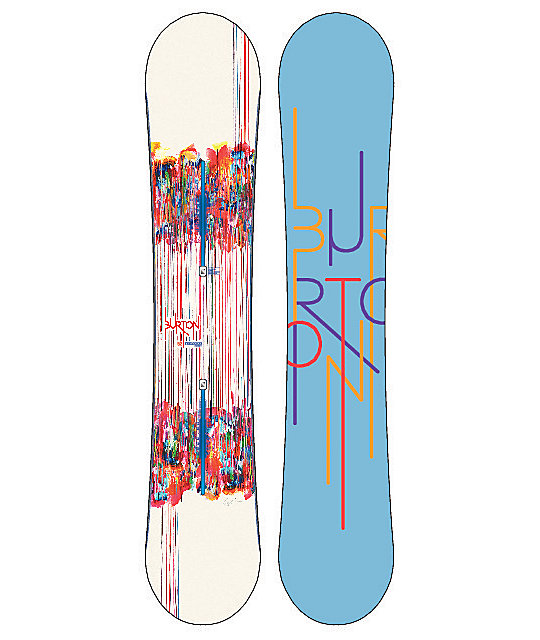 Burton Feelgood Flying V 152cm Womens Snowboard