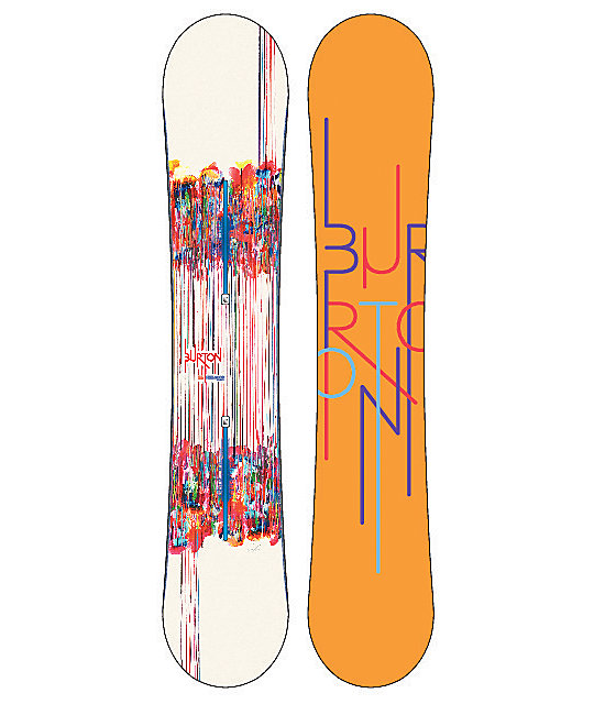 Burton Feelgood Flying V 155cm Womens Snowboard