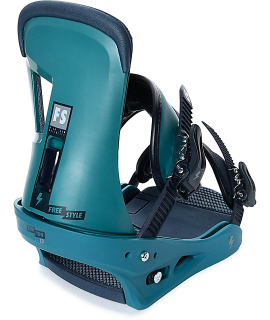 Burton Freestyle Green Snowboard Bindings