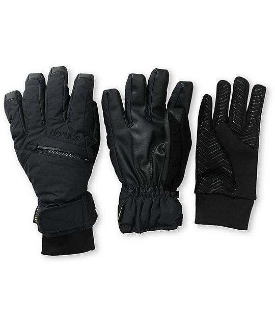 Burton GORE-TEX Black Snowboard Liner & Gloves