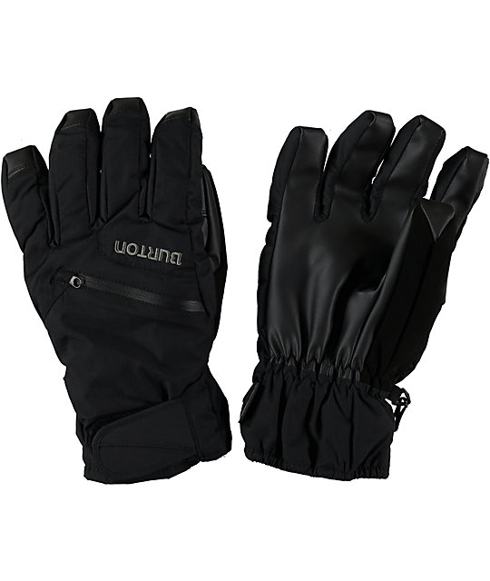 Burton GORE-TEX Black Under Gloves