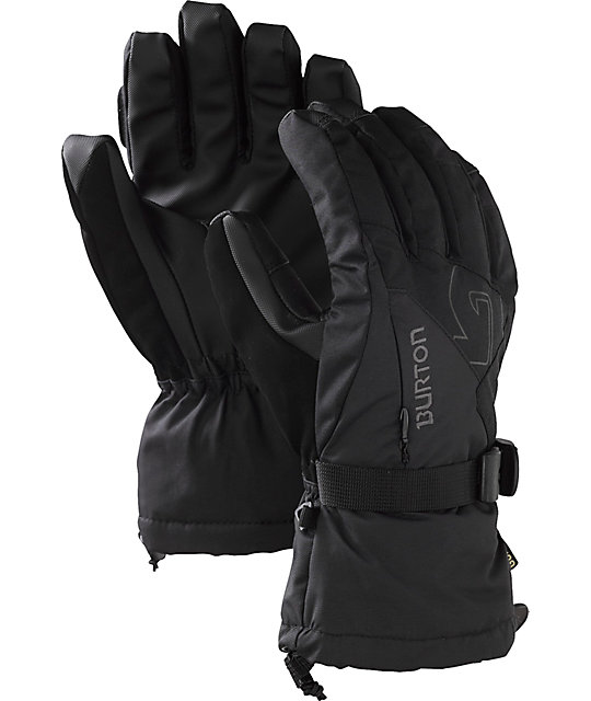 Burton GORE-TEX Mens Black Under Gloves