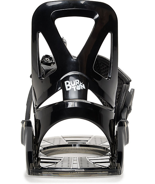 Burton Grom Black Kids Snowboard Bindings