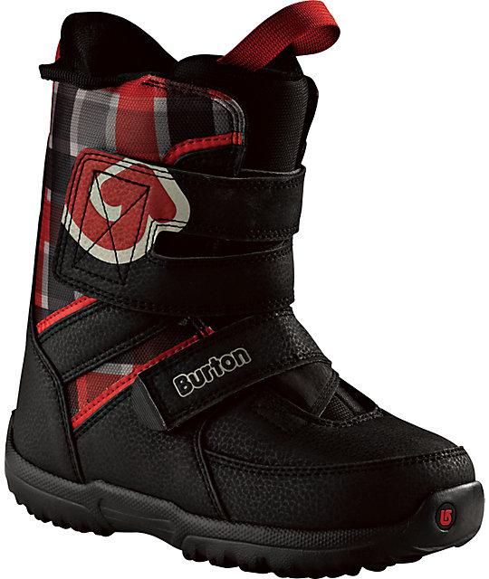 Burton Grom Kids Black Snowboard Boots