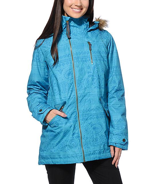 Burton Hazel Sterling Print 10K Snowboard Jacket