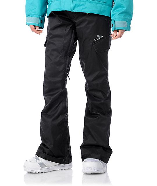 Burton Indulgence Black 10K Snowboard Pants