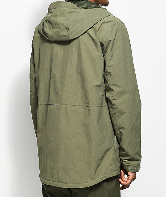 Burton Intervale Dusty Olive 3K Jacket