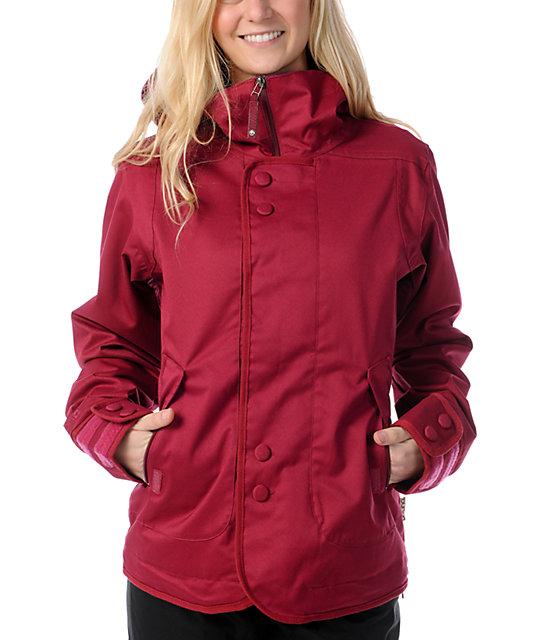 Burton Jet Set 10K Red Snowboard Jacket