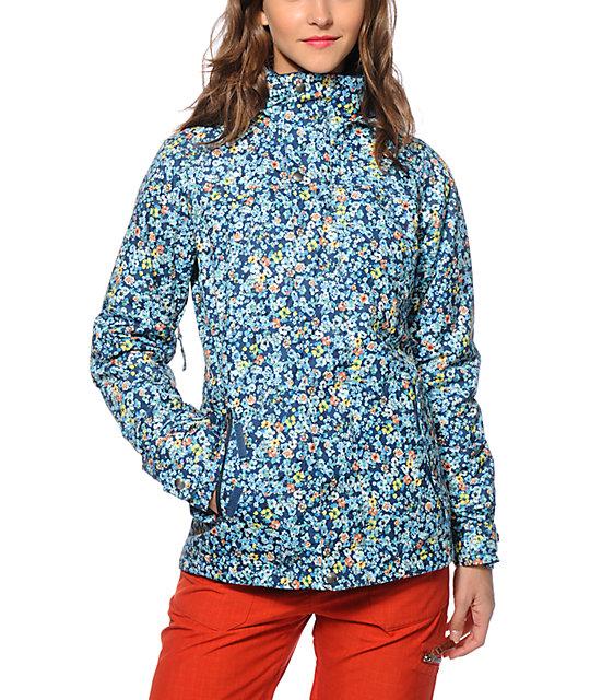 Burton Jet Set Confetti Floral 10K Snowboard Jacket