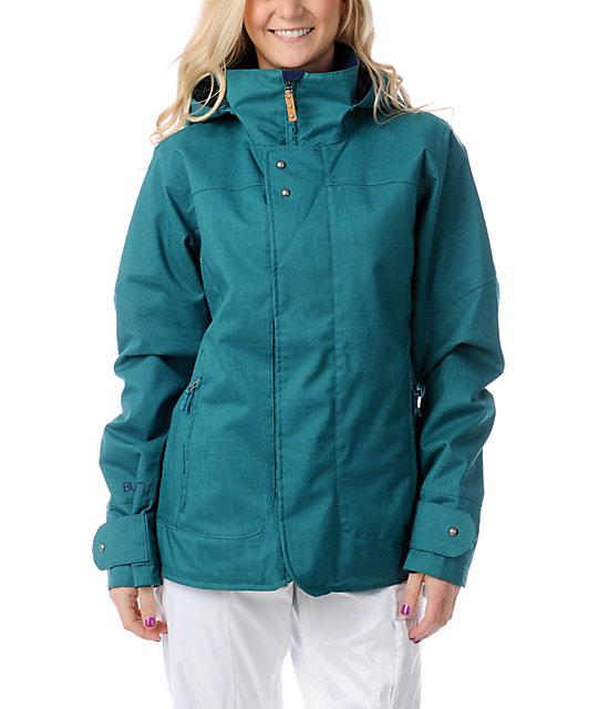 Burton Jet Set Spruce Green 10K Snowboard Jacket