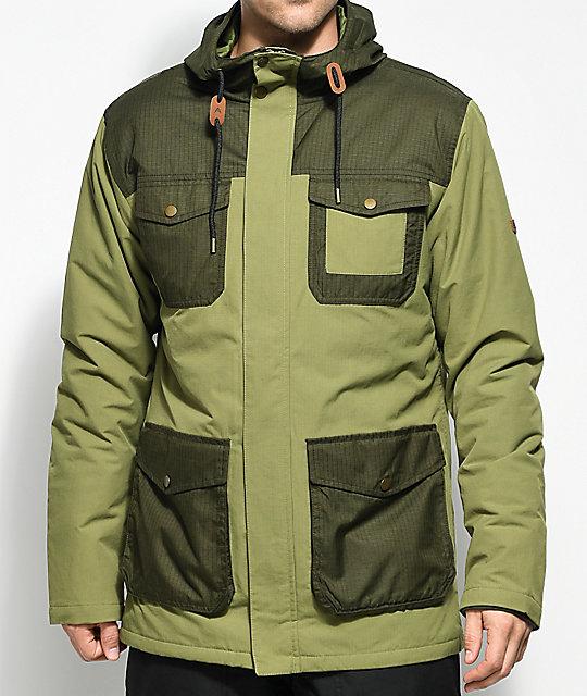 Burton Match Olive Insulated Jacket