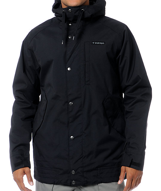 Burton Mens TWC Throttle Black Snowboard Jacket