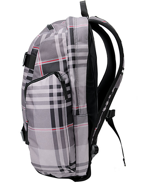 Burton Metalhead Vandyke Plaid Skate Backpack