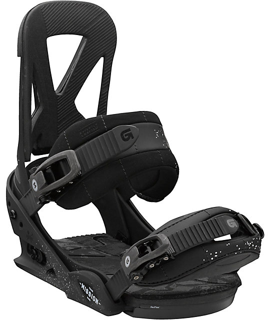 Burton Mission Black ReFlex Snowboard Bindings