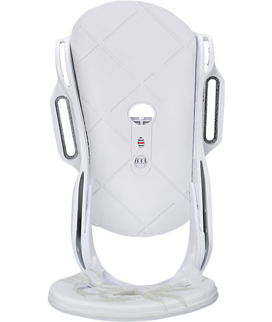 Burton Mission EST White Snowboard Bindings