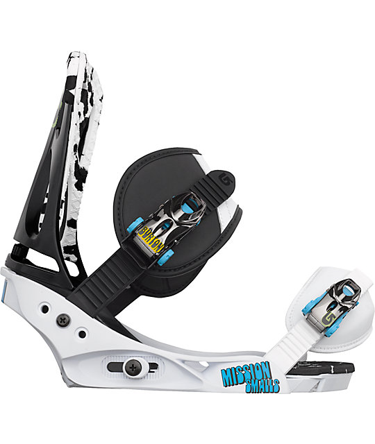Burton Mission Smalls Black Kids Snowboard Bindings