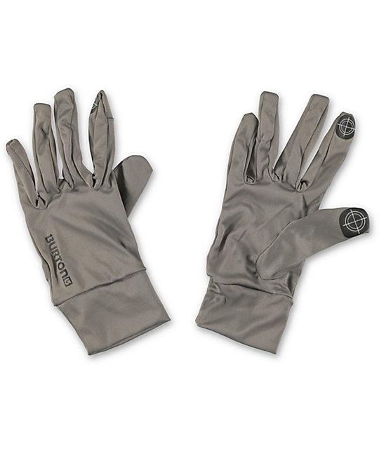 Burton Monoxide Grey Touchscreen Liner Glove