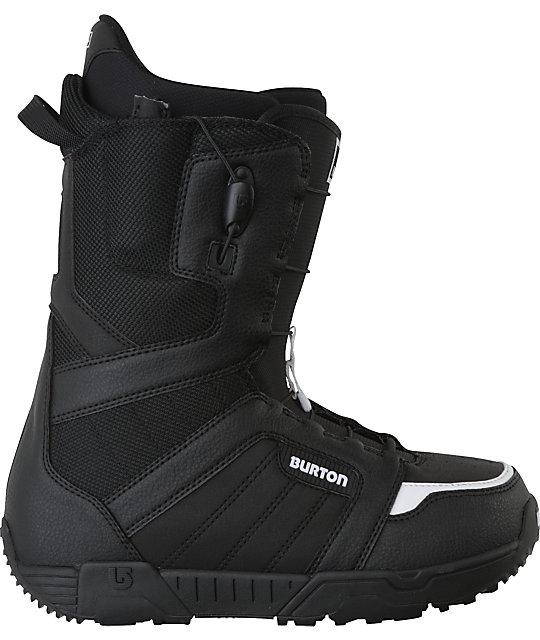 Burton Moto Black Mens Snowboard Boots