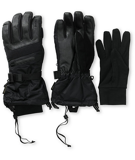Burton Pinnacle GORE-TEX Black TouchTec Gloves