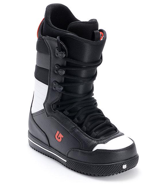 Burton Poacher Black Mens Snowboard Boots