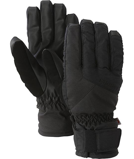 Burton Profile Black Mens Under Gloves