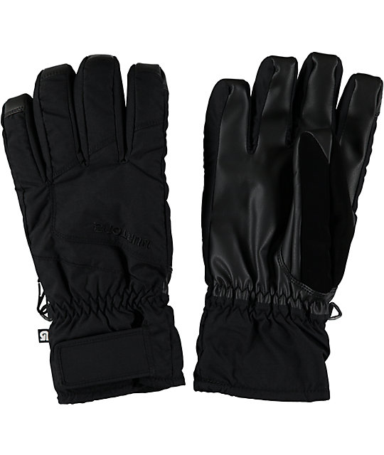 Burton Profile Black Under Gloves