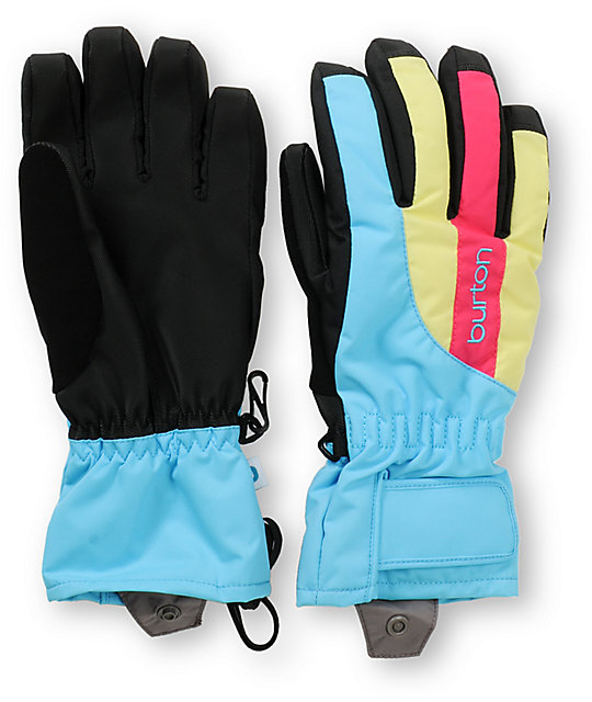 Burton Profile Womens Avatar Blue Under Gloves