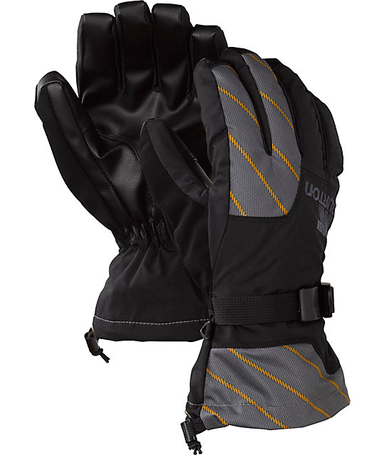 Burton Pyro Black Mens Snowboard Gloves