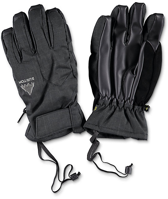 Burton Pyro Black Under Snowboard Gloves