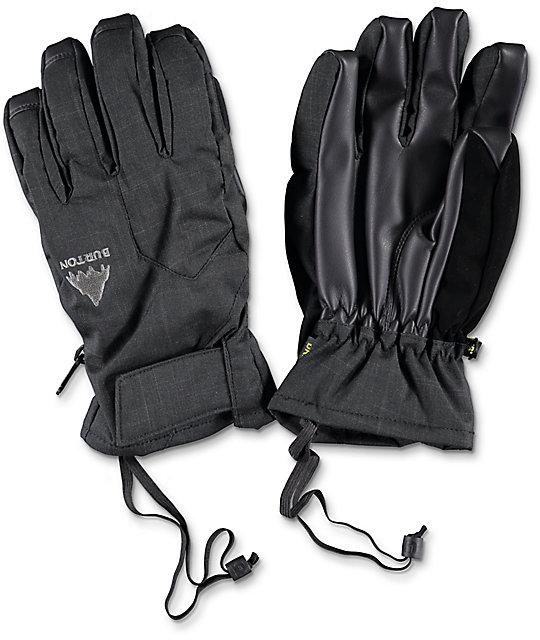 Burton Pyro Black Under Snowboard Gloves