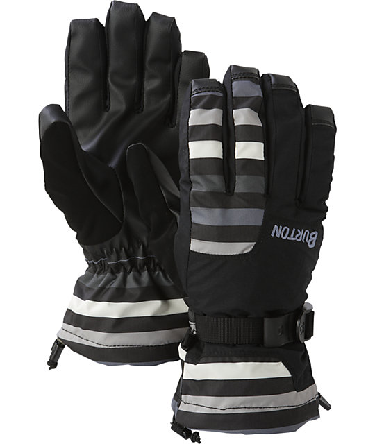 Burton Pyro Mens Black Snowboard Gloves