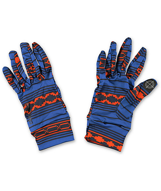 Burton Raya Blue Touchscreen Liner Glove