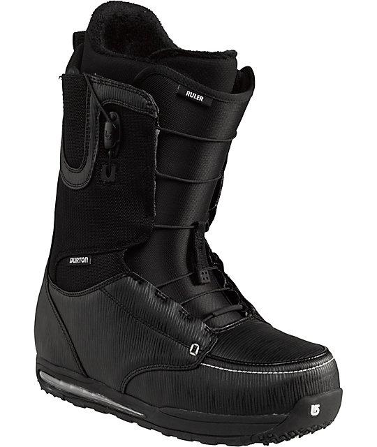 Burton Ruler Black Snowboard Boots