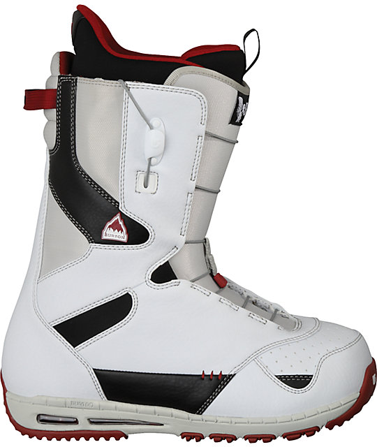 Burton Ruler White Snowboard Boots