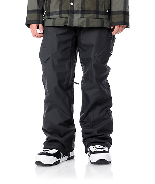 Burton Shaun White Smuggler Black 10K Snowboard Pants