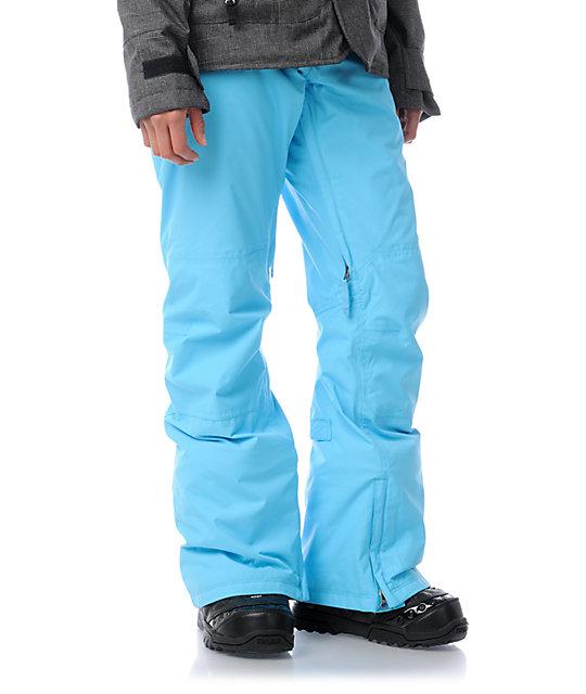 Burton Society Avatar Blue 10K Snowboard Pants