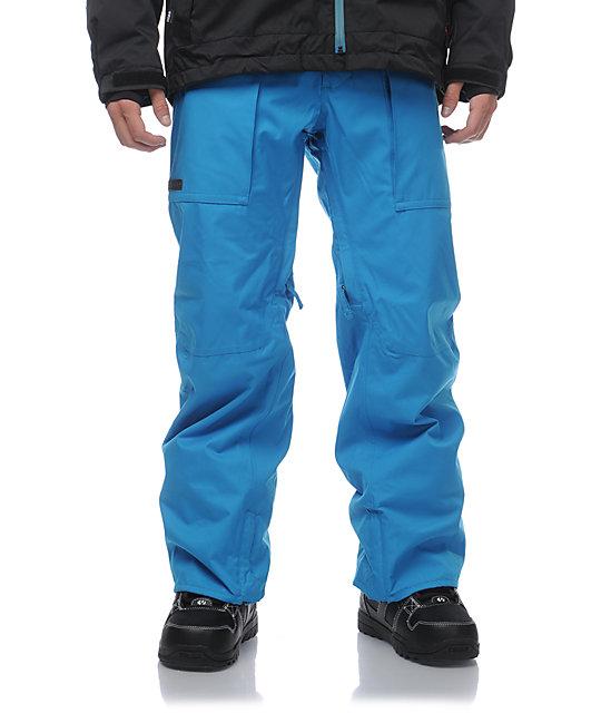 Burton Southside Bombay Blue 10k Snowboard Pants