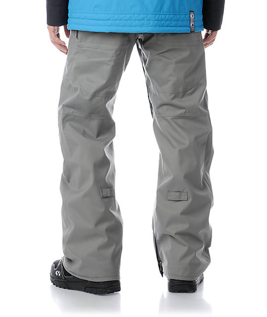 Burton Southside Jet Pack Grey 10k Snowboard Pants