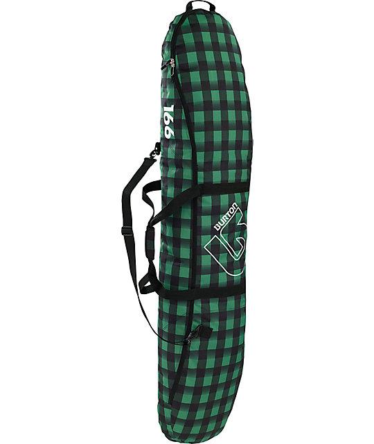 Burton Space Sack 166cm Astro Plaid 2012 Snowboard Bag