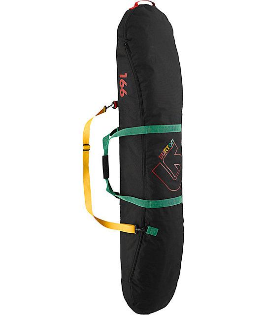 Burton Space Sack 2013 Bombaclot Rasta 166cm Snowboard Bag