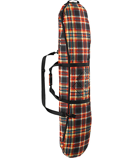 Burton Space Sack 2013 Majestic Plaid 166cm Snowboard Bag