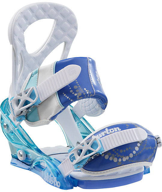 Burton Stiletto Aqua Womens Snowboard Bindings